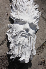 Plaster sculpture III