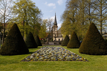 French garden in Celle