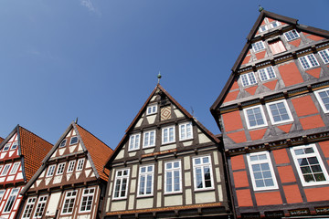 Celle half-timbered houses