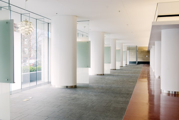 Lobby, Modern Office