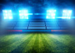 Football Stadium Lights - 64117900