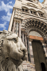 Cathedral of St. Lawrence - Genoa Italy