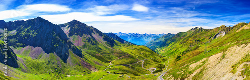 canvas print picture Pyrenees mountains