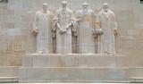 Reformation monument in Geneva, Switzerland. - 64119589