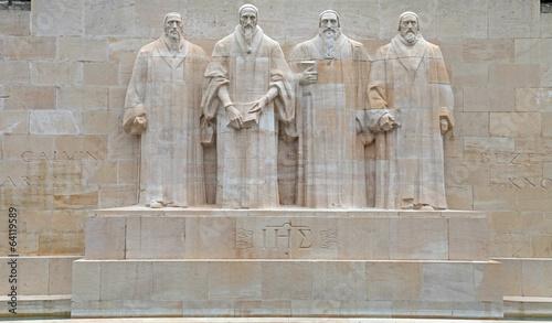Zdjęcia na płótnie, fototapety, obrazy : Reformation monument in Geneva, Switzerland.