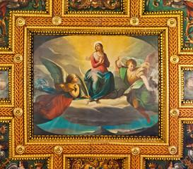 Ceiling Fresco at the St. Bartholomew on the Island Basilica