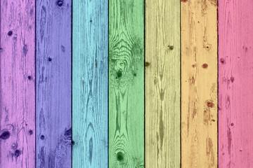 Regenbogenfassade