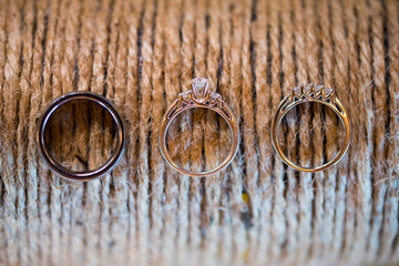 Wedding Rings and Rope