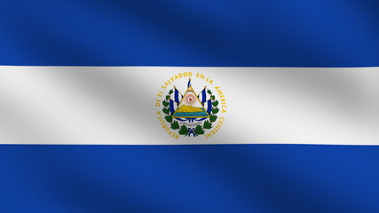 El Salvadoran flag