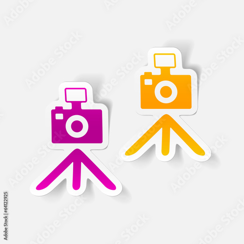 realistic design element: camera
