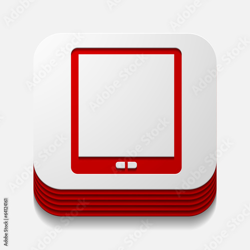 square button: smartphone
