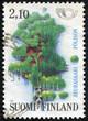 stamp printed in the Finland shows Seurasaari Island, Tourism