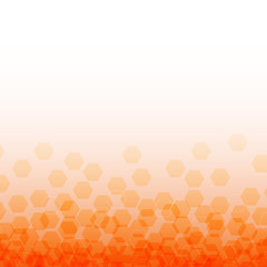summer orange with square pattern background (vector)