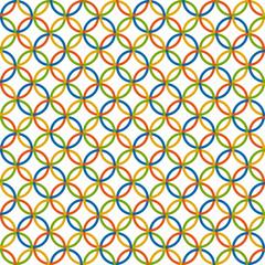 farbiger Kreise Hintergrund - endlos