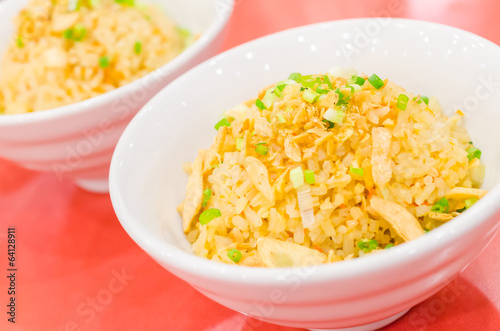Fried garlic rice