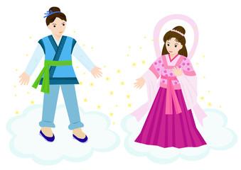 七夕ー織姫と彦星