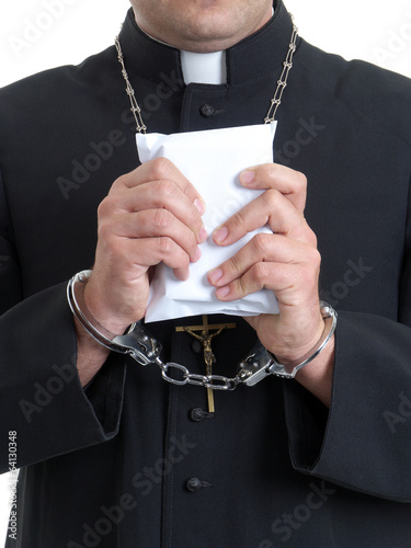 Priest with bribe