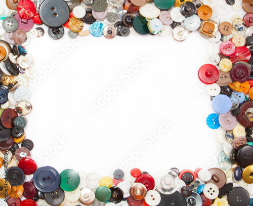 Frame with buttons