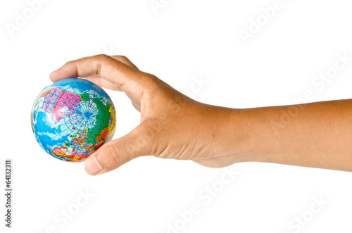 Hand and world