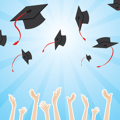graduation pattern