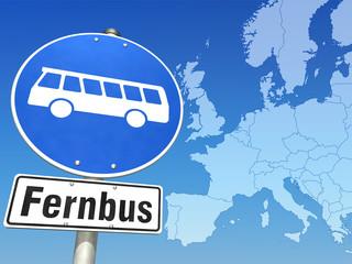 Mit dem Fernbus durch Europa