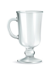Traditional mug for Irish coffee