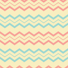 Chevron pastel seamless pattern