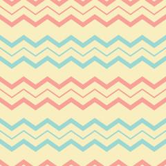 Chevron pastel seamless pattern