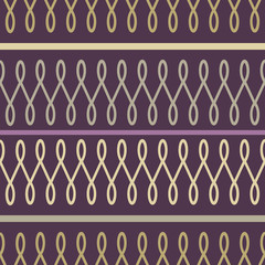Loop purple seamless pattern