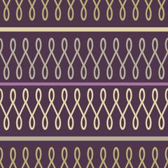 Loop purple seamless pattern