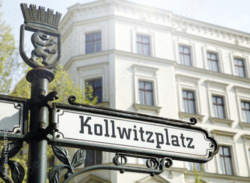 Plexiglas Berlijn Kollwitzplatz Berlin