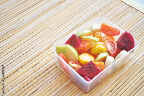Tropical Fruits Salad