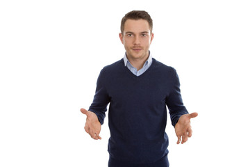 Erfolgloser Geschäftsmann isoliert