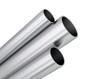 canvas print picture - Aluminium Rohre Profile aufsteigend