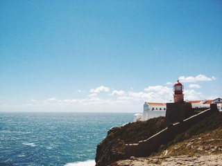 lighthouse in Sagres