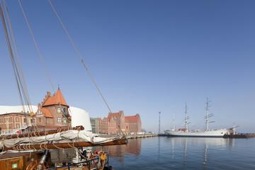 Stralsund im Frühling