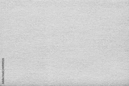 Deurstickers Stof texture of white rough fabric