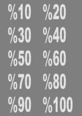 beyaz % oranları