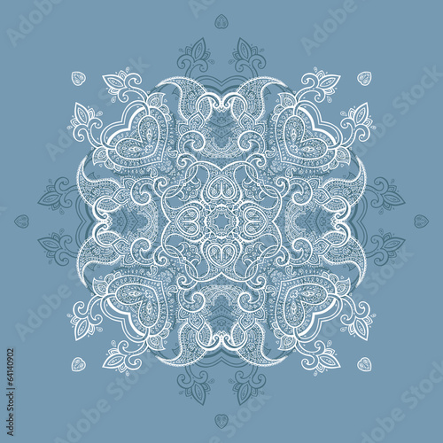 Lace background. Mandala.