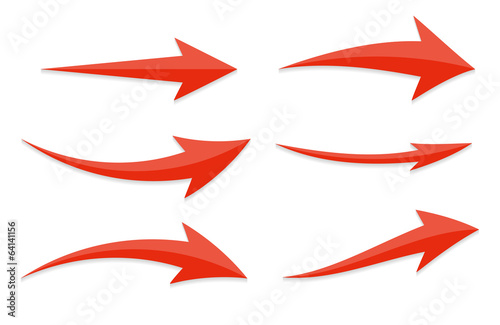 Arrow Icon Sign Set. Vector Illustration. - 64141156