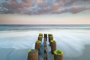 Folly Beach Charleston South Carolina Erosion Control Structure