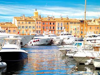 Yacht Harbor of St.Tropez, France