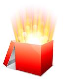 Glowing box.