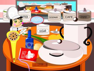 Pesadilla en la cocina