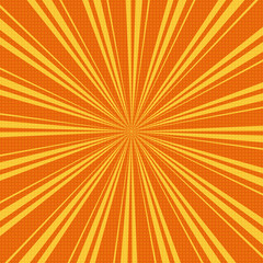 Grunge sunburst vector illustration