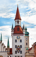 Zodiac Clock Tower, Munich, Germany