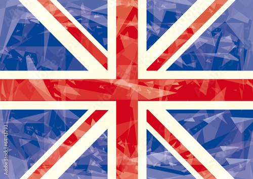 Union jack icy flag
