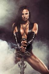 Sexy Warrior Woman