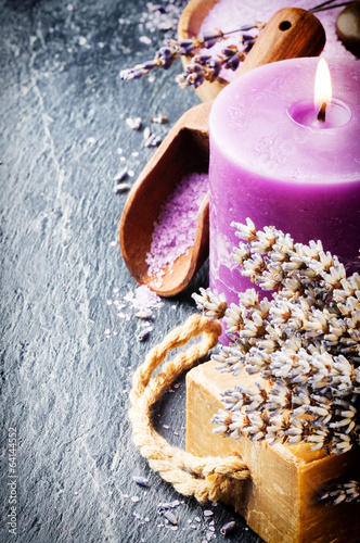 Wellness concept with lavender