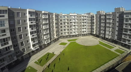 New residential building in Housing Complex
